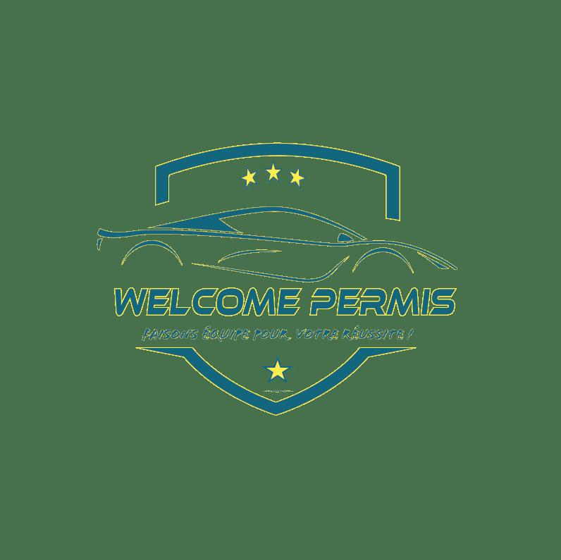logo auto ecole welcome permis transparent