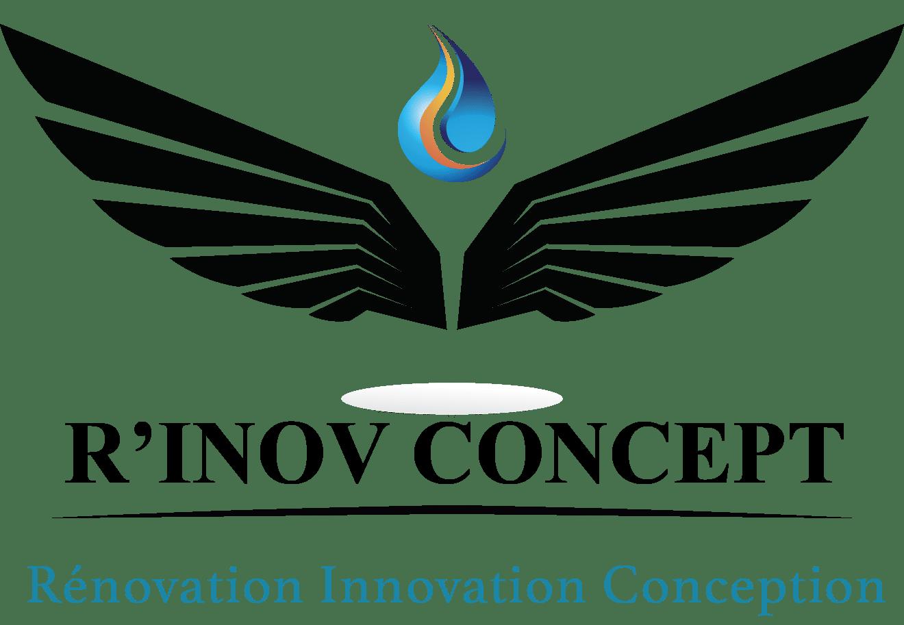 logo rinov concept transparent