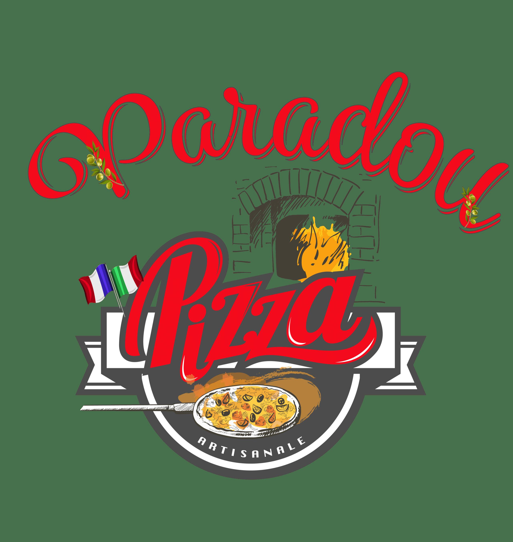 logo pizzeria avec four a bois