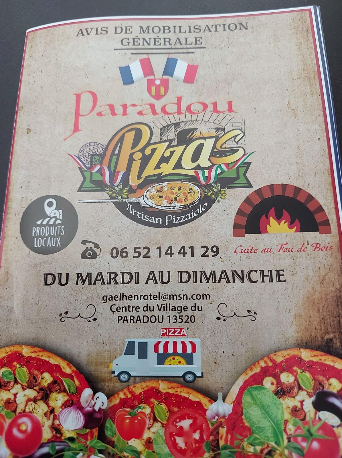 flyer pizzeria